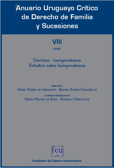 Anuario Uruguayo Crítico de Derecho de Familia y Sucesiones
