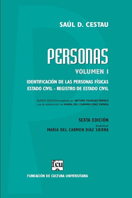 Tapa libro: Cestau, Personas, Vol. 1