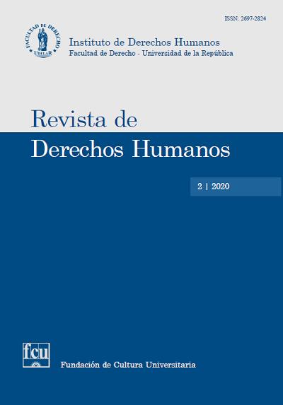 Tapa de la Revista de Derechos Humanos